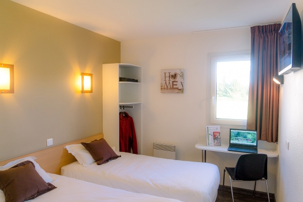 Chambre Twin Fasthotel Perigueux