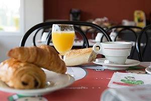 Petit-déjeuner - Fasthôtel Périgueux