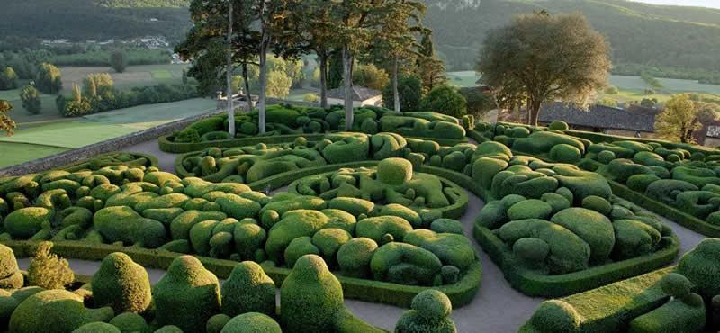 Les jardins deMarqueyssac